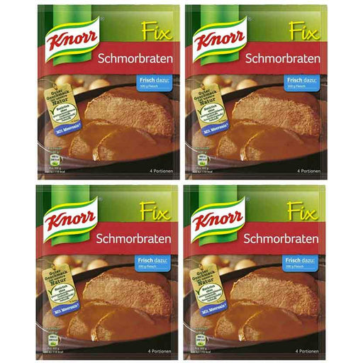 FREE Shipping | 4-Pack Knorr Fix for Pot Roast, Schmorbraten (1.4oz x 4)
