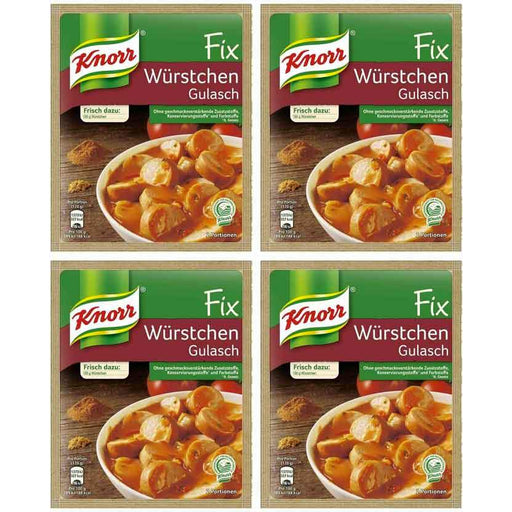 FREE Shipping | 4-Pack Knorr Fix for Sausage Goulash (1.1oz x 4)