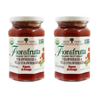 Free Shipping | 2-Pack Rigoni di Asiago Organic Strawberry Spread (8.8 oz x 2)