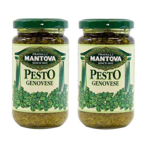Free Shipping | 2-Pack Mantova Pesto Genovese (6.5 oz x 2)