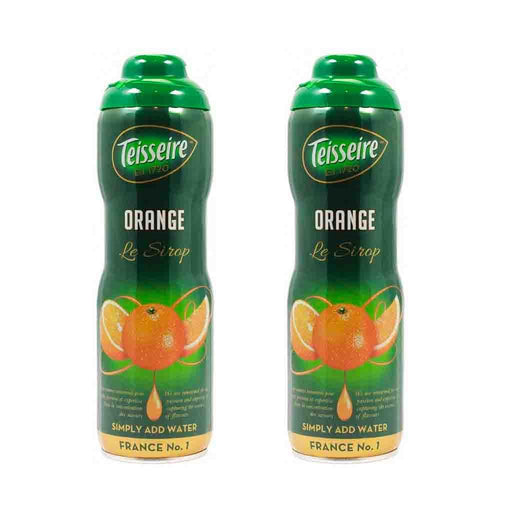 Free Shipping | 2 Pack Teisseire French Orange Syrup, 20 oz