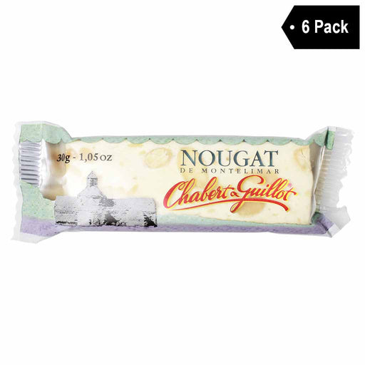 6 Pack Chabert Guillot Mini French Soft Nougat