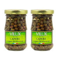 FREE Shipping | 2 Pack Vilux French Capers in Vinegar, 2.1 oz (60 g)