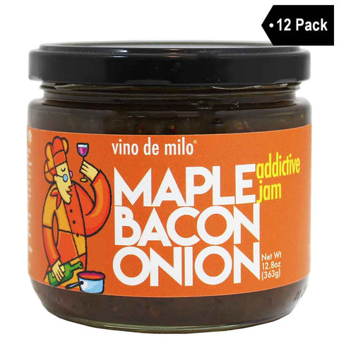Vino de Milo Maple Bacon Onion Jam (12.8 oz. x 12)