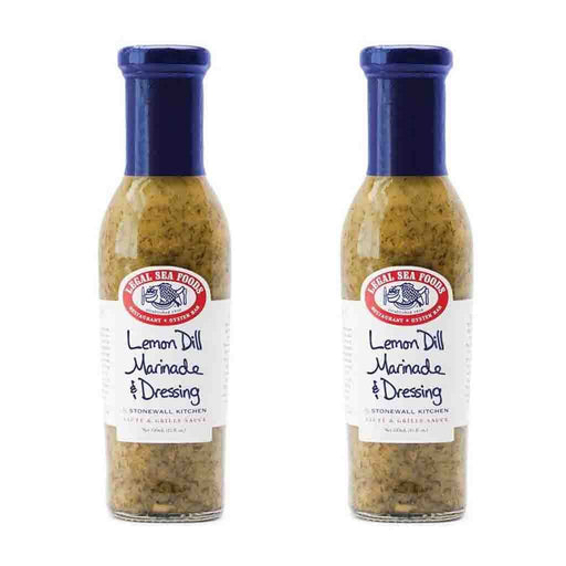 2 Pack Legal Sea Foods Lemon Dill Marinade & Dressing, 11 oz (312g)