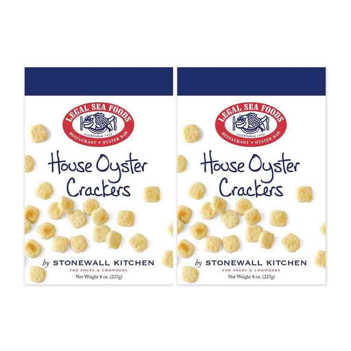 2 Pack Legal Sea Foods Oyster Crackers, 8 oz (220g)