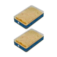 2 Pack Savannah Bee Company Raw Acacia Honeycomb, 5.6 oz (160 g)