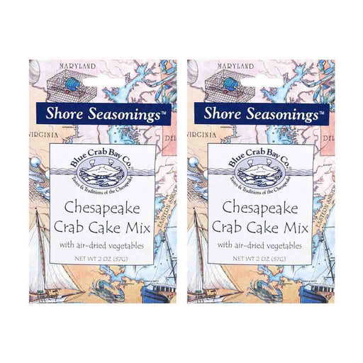 2 Pack Chesapeake Crab Cake Mix by Blue Crab Bay Company 2 oz