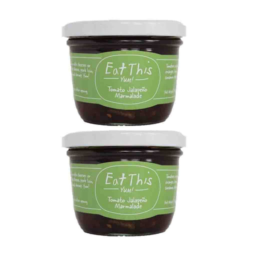 2 Pack Tomato Jalapeno Marmalade Eat by This Yum! 7.68 oz (220 g)