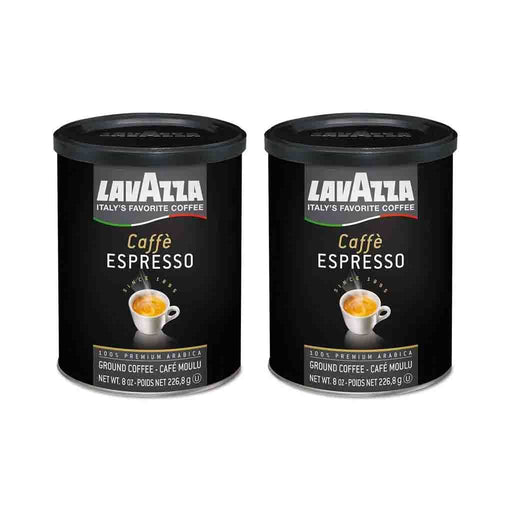 FREE SHIPPING | 2 Pack Lavazza Cafe Espresso Ground Coffee 8 oz. (226 g)