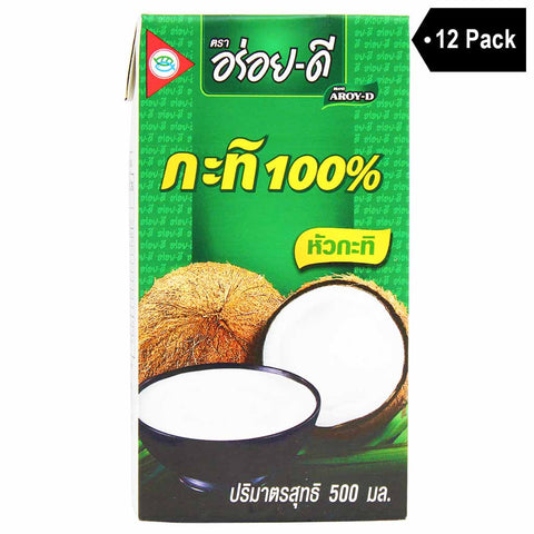 Aroy-D Coconut Milk (16.9 fl oz. x 12)