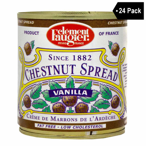 Clement Faugier Chestnut Spread Puree de Marrons (17.5 oz x 24)