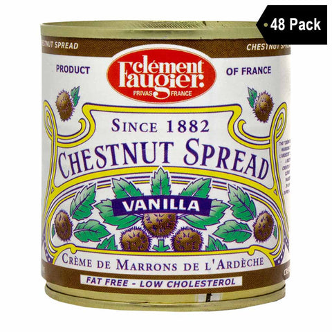 Clement Faugier Small Chestnut Spread Puree de Marrons (8.7 oz. x 48)