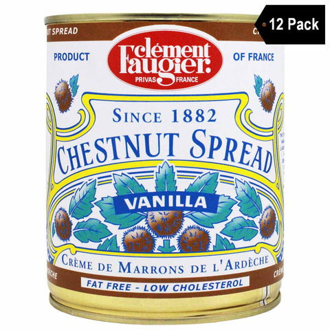 Clement Faugier Extra Large Chestnut Spread Puree de Marrons (35 oz. x 12)