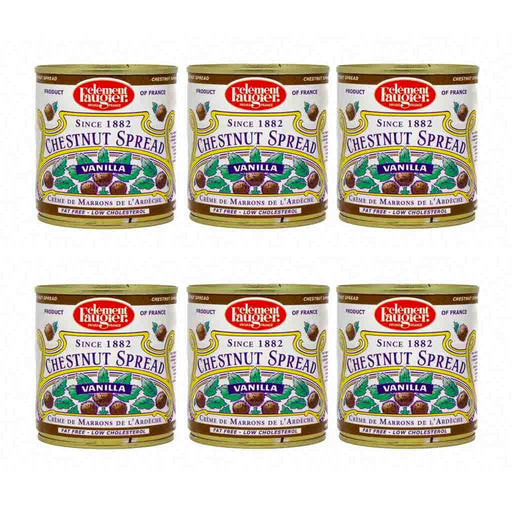 FREE SHIPPING|6 pack Clement Faugier Chestnut Spread, Vanilla, 8.7 oz 250 g