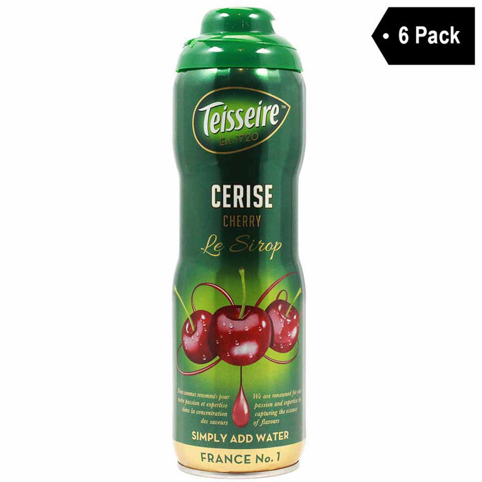 Teisseire French Cherry Syrup (20 oz. x 6)