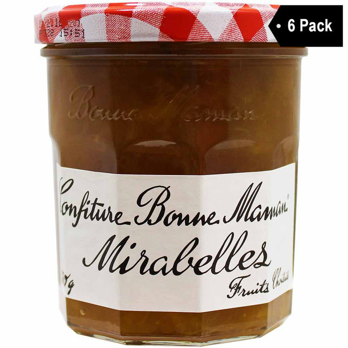 FREE Shipping | Bonne Maman French Mirabelles Jam 11 oz. x 6