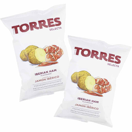 Torres - Iberico Ham Potato Chips, 3 Pack, (5.29 oz x3)
