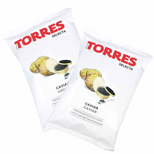 Torres Caviar Potato Chips, 3 Pack (3.8 oz. x 3)