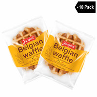 Jacquet Authentic Belgian Waffle 10 Pack