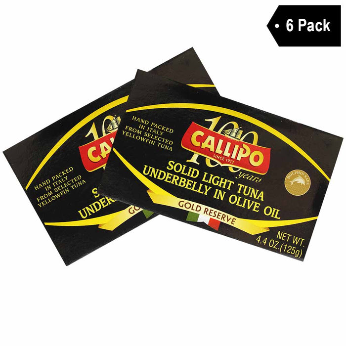 Callipo Ventresca Tuna Belly (4.4 oz x 6)