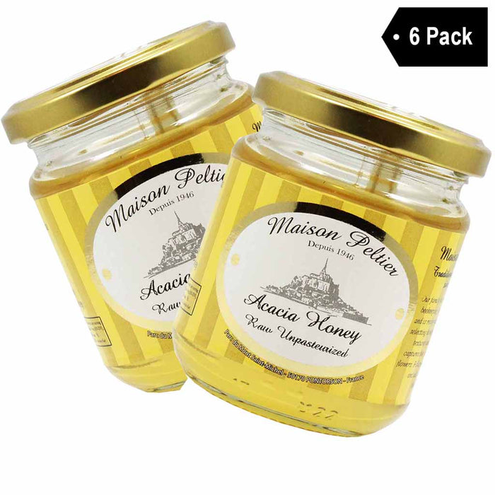 Maison Peltier French Acacia Honey, 6 Pack