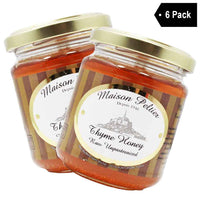 Maison Peltier French Thyme Honey, 6 Pack