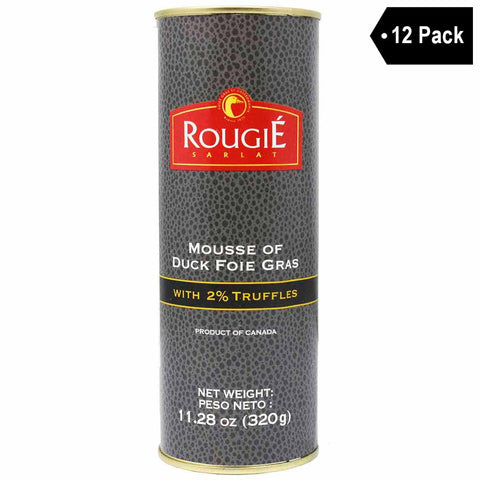12 Pack Rougie Duck Foie Gras Mousse with Truffles