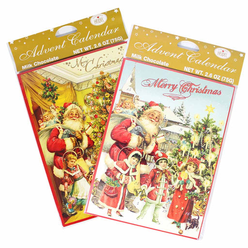 Confiserie Heidel Nostalgic Chocolate Advent Calendar Set