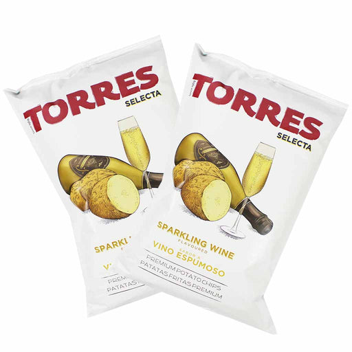 Torres Sparkling Wine Potato Chips, 6 Pack (5.2 oz x 6)