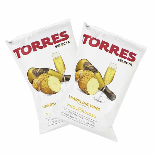 Torres Sparkling Wine Potato Chips, (1.7 oz x 6)