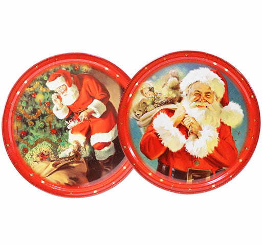 Miles Kimball Miles Kimball Danish Butter Cookies in Christmas Tin 2 Pack