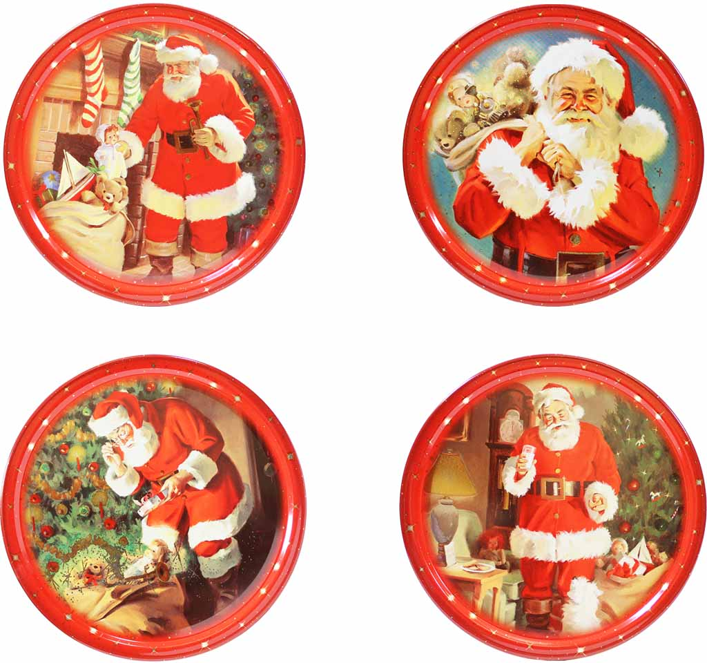 Christmas Tin Cookies.Miles Kimball Miles Kimball Danish Butter Cookies In Christmas Tin 4 Pack