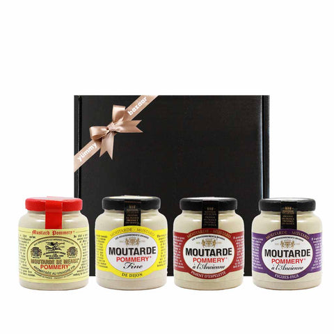 Pommery Flavored French Mustard Gift