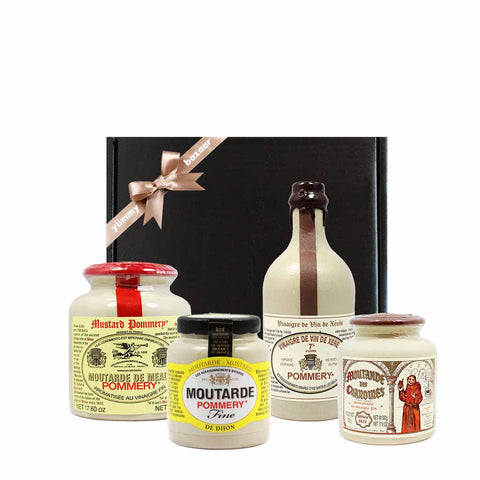 Pommery French Mustard and Vinegar Gift
