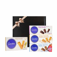 Gavottes French Crepe Dentelle Cookies Gift