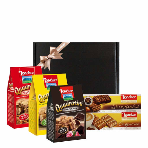 Loacker Italian Cookies & Wafers Valentines Day Gift