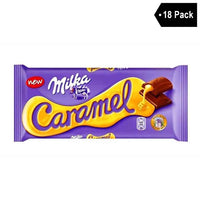 18 Pack Milka Caramel Filled Chocolate (3.5 oz x 18)