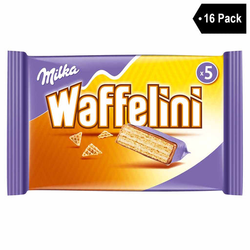 16 Pack Milka Waffelini with Cream Filling