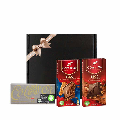 Cote d'Or Belgian Chocolate Bar Gift