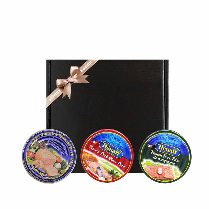 Henaff French Pork Pate Trio Gift