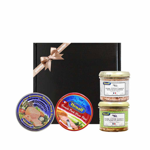 Henaff French Pork Pate & Confit Gift Set