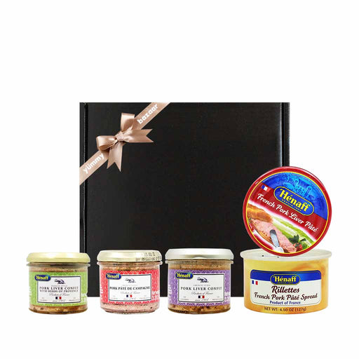 Henaff French Pork Confit & Rillettes Gift