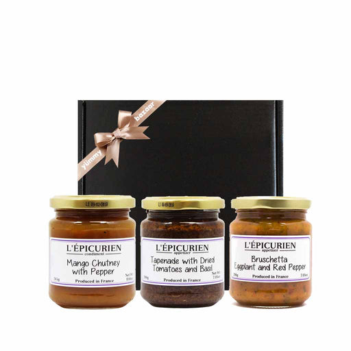 Epicurien French Appetizers & Spreads Gift