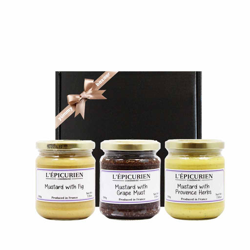 Epicurien Assorted French Mustard Gift