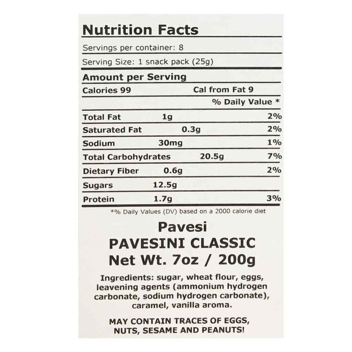 Pavesi Original Pavesini Snack Packs 7 oz. (200g)