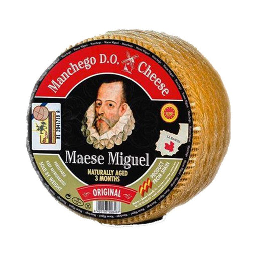 Maese Miguel 1.1 lb Manchego DO 3 Months Aged (480g)