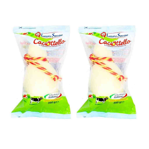 FREE SHIPPING|2 Pack Caciottello Cheese by Latteria Soresina 12.3 oz