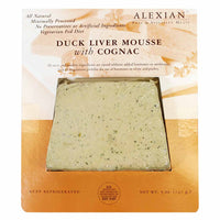 Alexian Pate Duck Liver Mousse with Cognac 5 oz. (140g)