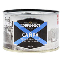 Wild Caught and Ocean Canned Pacific Saury by Dobroflot 8.6 oz
